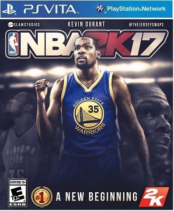 NBA 2k17 Ps vita